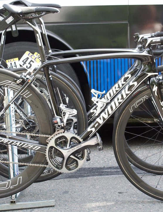 Tony Martin's Specialized S-Works Tarmac