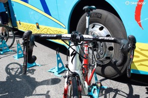 A front view of Aru's Specialized S-Works