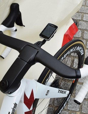 The new Madone features an updated cockpit system