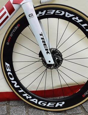 A look at Degenkolb's front wheel setup