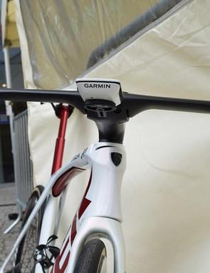 The front end of Degenkolb's bike