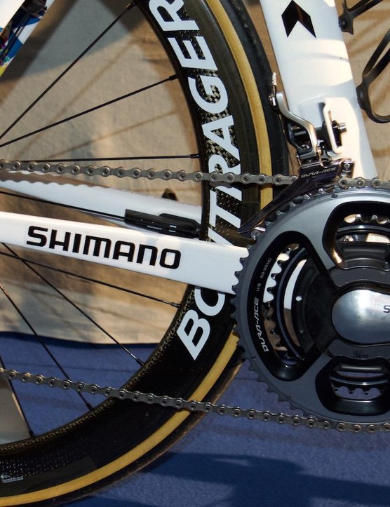 The Madone is equipped with mechanical Shimano Dura-Ace