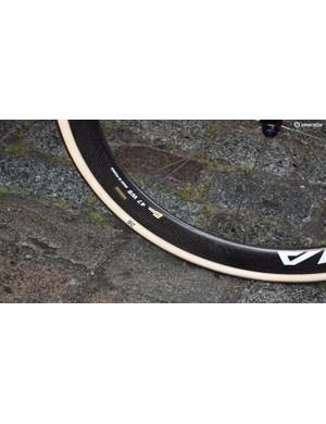 Most of the Astana riders ran 26mm FMB tubular tyres