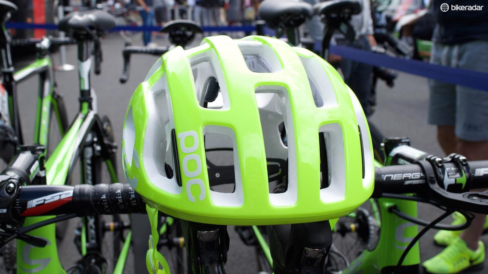 Cannondale-Drapac riders will be easy to spot in the peloton
