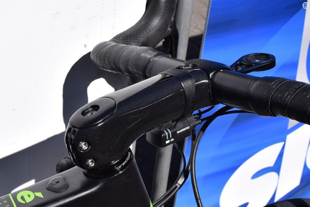 ENVE's new SES Aero Road Stem is adjustable for angle and length