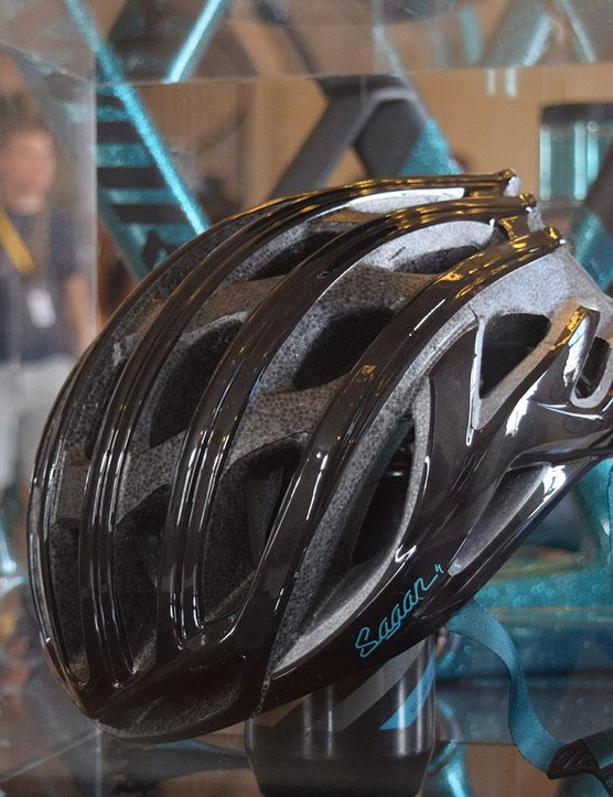 The Sagan Collection includes an S-Works Prevail helmet in the same colourway as the frames