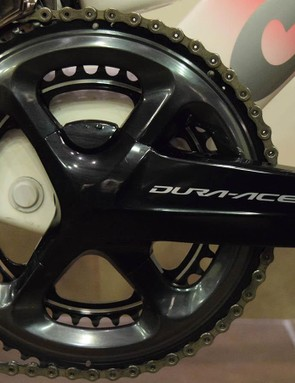 Matthews runs a 54/39 chainring combination