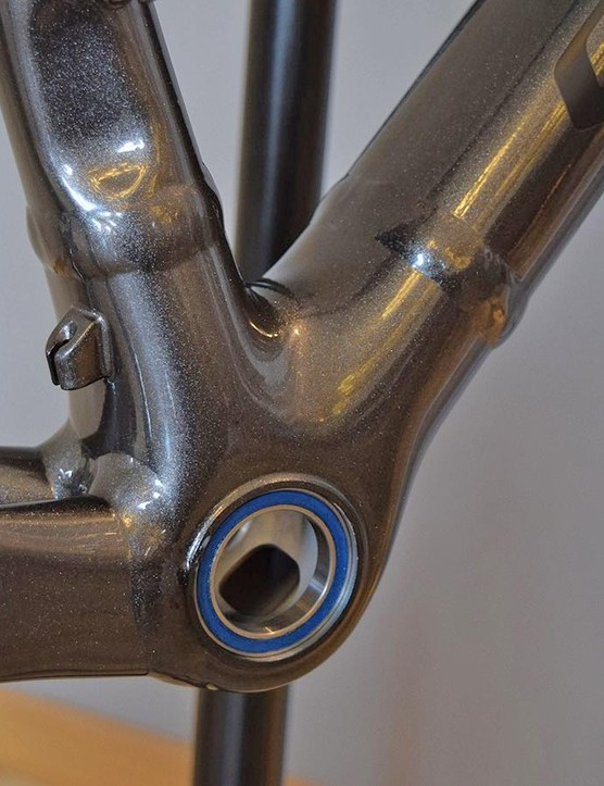 A look at the bottom bracket area on the Specialized Allez DSW Sagan Collection