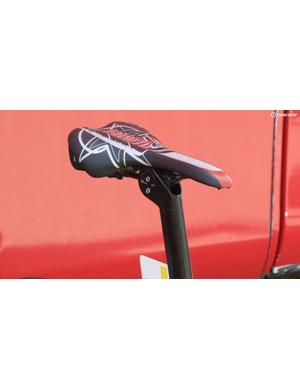 Rodriguez also has a custom Selle Italia saddle