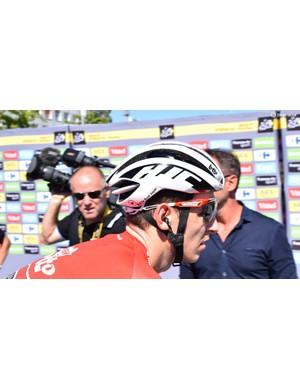 Lotto-Soudal has been wearing helmets from HJC since last season