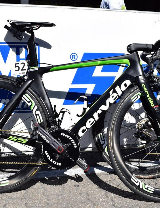 Mark Renshaw's Cervelo S5 at the 2018 Tour Down Under