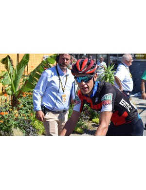Richie Porte and his BMC Racing teammates wore the new Giro Aether helmet
