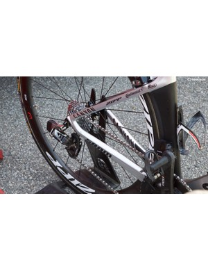 Wireless shifting on the derailleurs from SRAM
