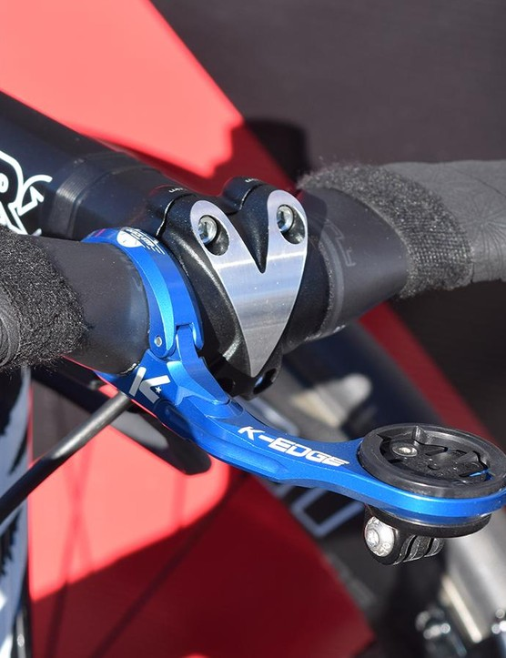 Quick-Step Floors are equipped with custom out-front mounts from K-Edge