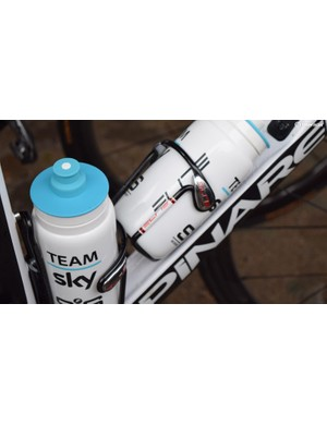 A few WorldTour teams switch to Elite Ciussi bottle cages for the cobbles