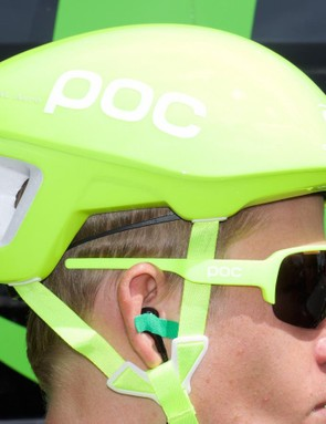 The Octal Aero was also worn during the opening stage of the Tour