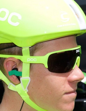 DO Half Blade glasses also received the fluoro treatment