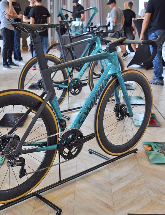 The Sagan Collection was on display in Cholet ahead of the Tour de France