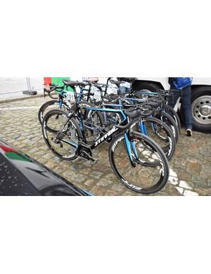 Wout Van Aert's (Veranda's Willems-Crelan) Stevens Xenon for the 2018 Tour of Flanders