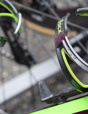 The team uses carbon Tacx Ciro bottle cages