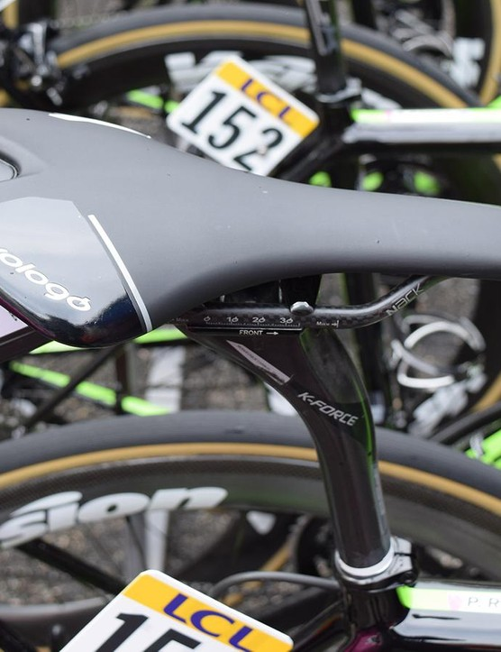 Rolland opts for a Prologo Nago C3 NACK saddle