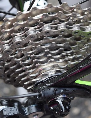 EF-Drapac is one of a few WorldTour teams to use Shimano Ultegra cassettes