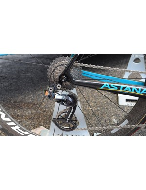 Astana are another team to use CeramicSpeed's OSPW system
