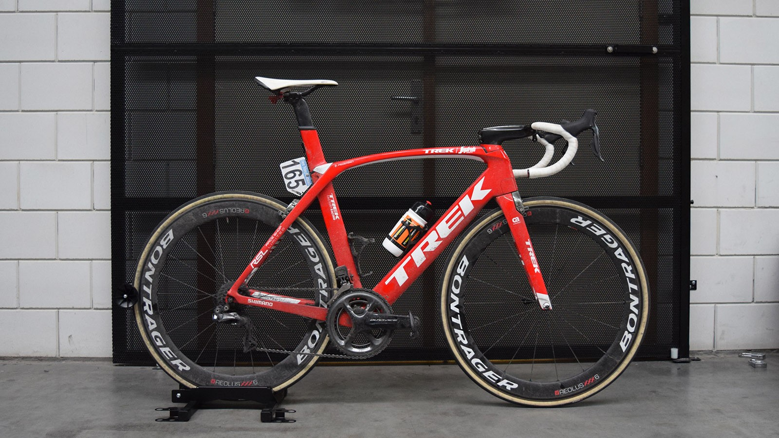 Mads Pedersen's Trek Madone 9 Race Shop Limited for the 2018 Tour of Flanders