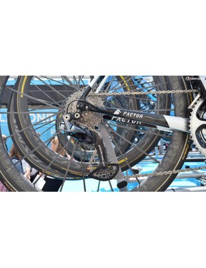 AG2R La Mondiale uses CeramicSpeed OSPW systems on all of its team bikes
