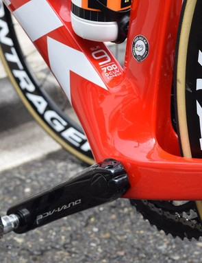 A large bottom bracket area contributes to quality power transfer