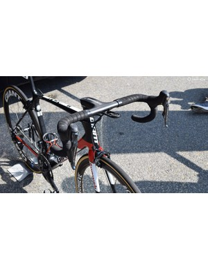 A look at the front end of Dumoulin's Giant
