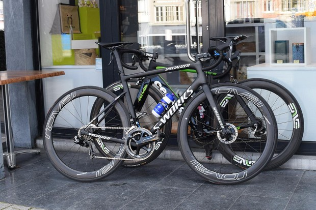 Zdenek Stybar's 2018 Specialized S-Works Tarmac SL6 Disc
