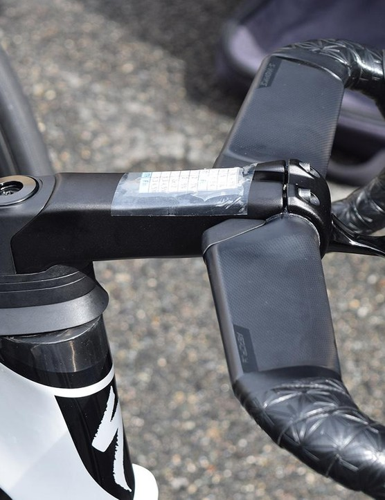 As with the previous Venge, the frame looks to have a proprietary stem system