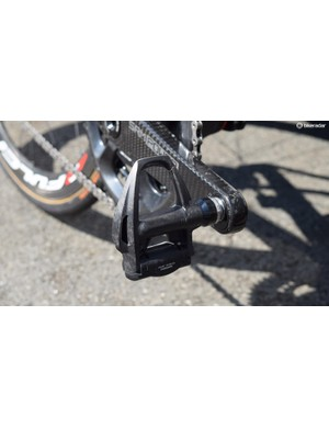 Shimano provides Dura-Ace R9100 pedals for Nibali and his teammates