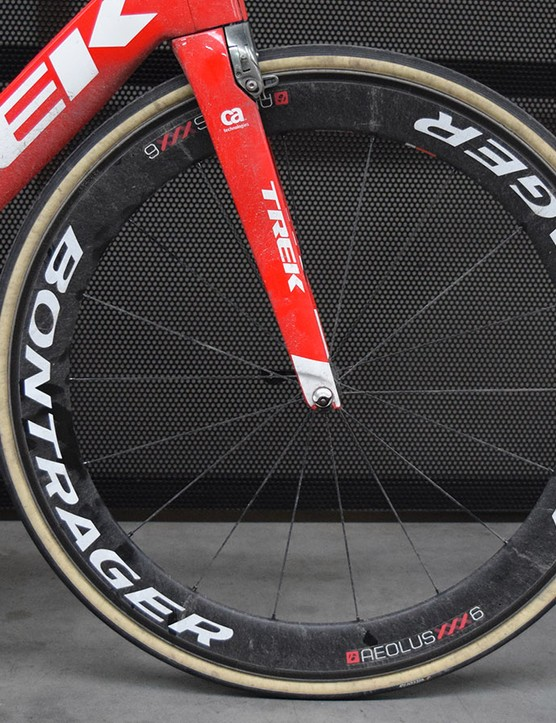Bontrager and Trek launched the new Aeolus XXX wheel range ahead of the Tour of Flanders