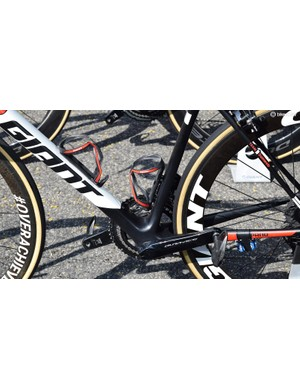 A wide bottom bracket area will improve power transfer