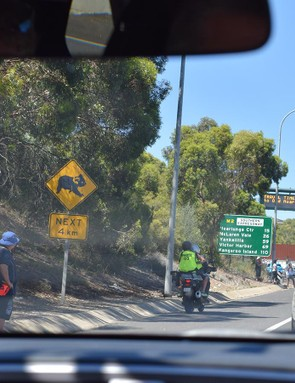 Stage 3 traversed through McLaren Vale to the coast at Victor Harbor