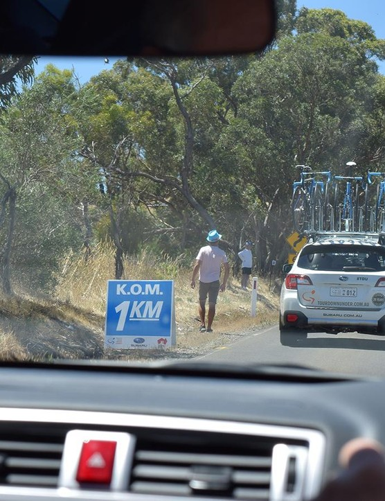Stage 3 featured two intermediate sprints and a King of the Mountain competition