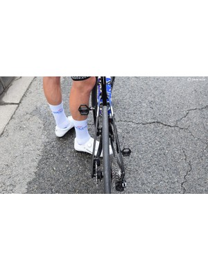 Flared seat stays allow air to flow through the frame as well as around it