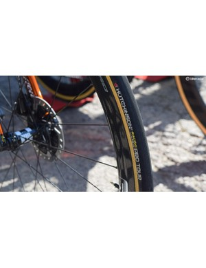 Direct Energie use tyres from French manufacturer Hutchinson