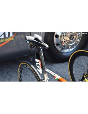 Components specialists Ritchey worked in collaboration with Wilier to produce proprietary seatposts for the framesets