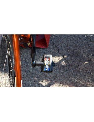 The veteran French rider uses Look Keo Blade Carbon pedals