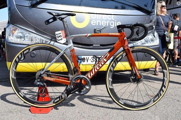 Sylvain Chavanel's Wilier Cento10 Pro Ramato