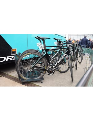 French Pro Continental outfit Vital Concept Cycling Club used the aerodynamic Orbea Orca Aero frameset for the race