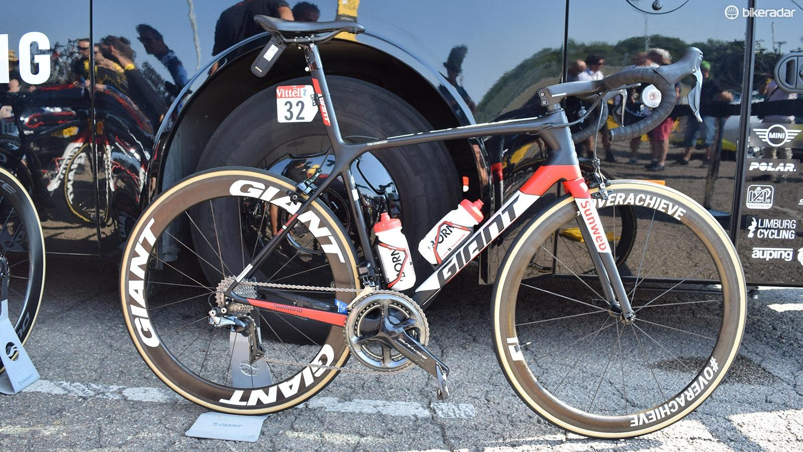 Tom Dumoulin's Giant TCR for the 2018 Tour de France