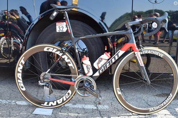 Tom Dumoulin's Giant TCR for the 2018 Tour de France