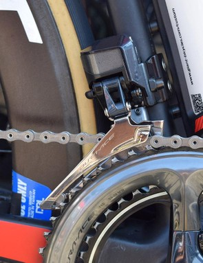 A closer look at the Shimano Dura-Ace R9150 front derailleur