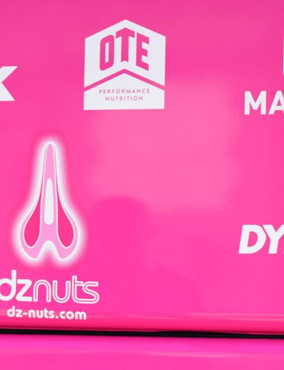 Dave Zabriskie's skincare product company, DZ Nuts, is a sponsor for EF Education First-Drapac