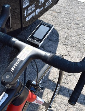 A look at Dumoulin's cockpit