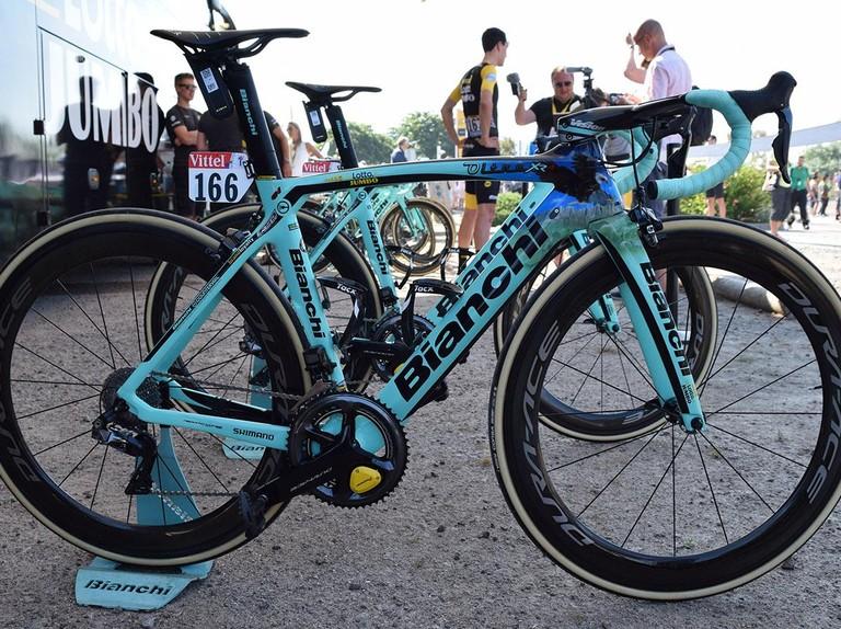 Tour De France Bikes Roglic And Groenewegen S Bianchi Oltre Xr4s Bikeradar